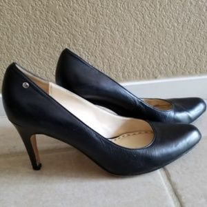 Coach Heels. Size 7. Leather